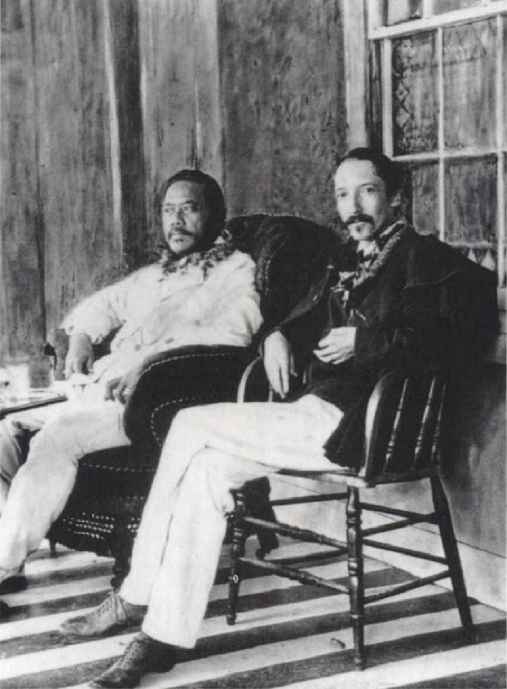 King_Kalakaua_and_Robert_Louis_Stevenson